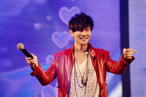 林俊杰笑容可爱