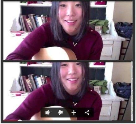 窦靖童素颜自拍唱歌视频