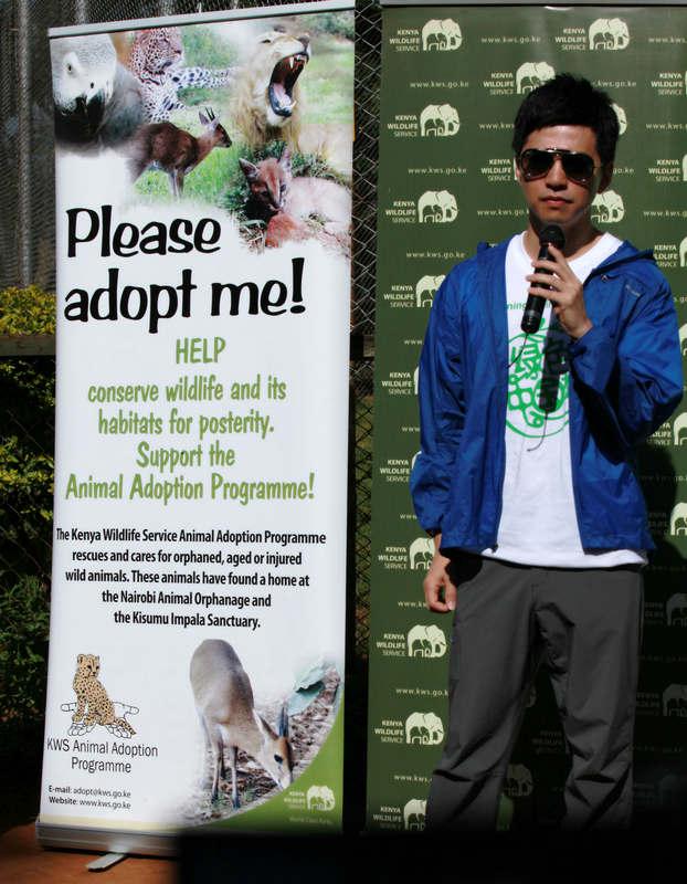 李健化身国际环保大使 呼吁保护野生动物的家园