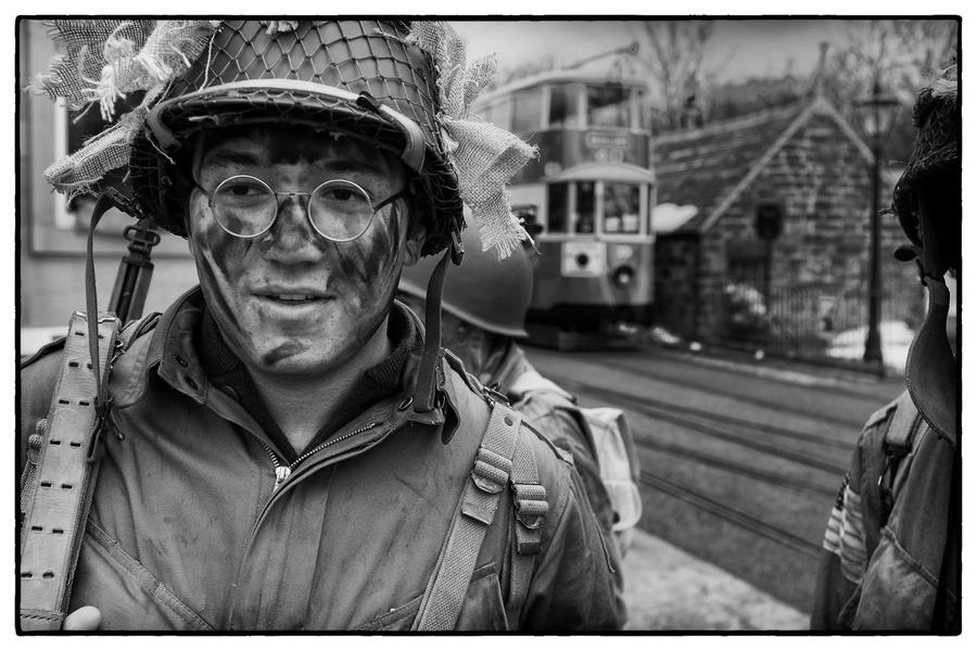 二战期间的美国大兵