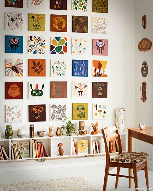 画一幅我的房间简笔画-系插画师的混搭居室