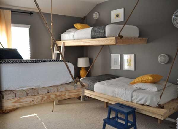 30种节省空间的儿童上下床 和小伙伴一起度过欢乐时光