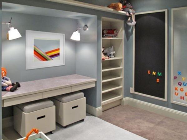开学季给孩子一个好的学习环境 十六款儿童学习区设计