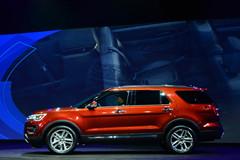 福特新款探险者车展首发实拍