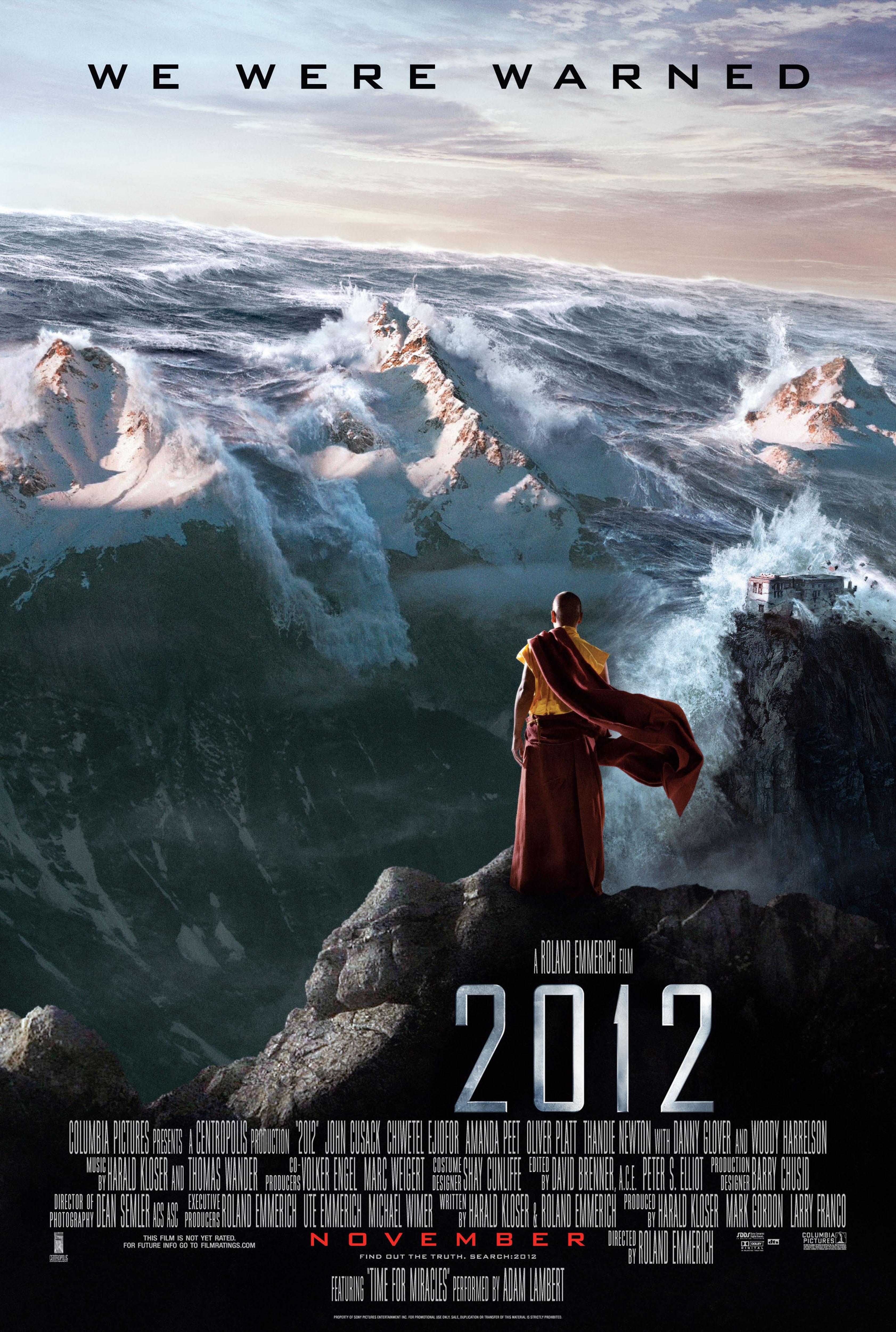 电影 2012 中那座神秘的寺庙