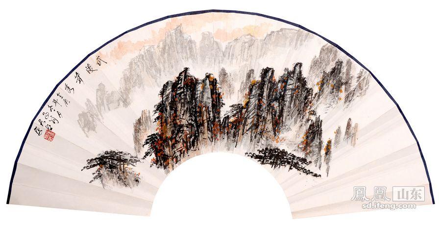 挥毫泼墨写真情 国画家徐君熙作品赏析_频道_凤凰网
