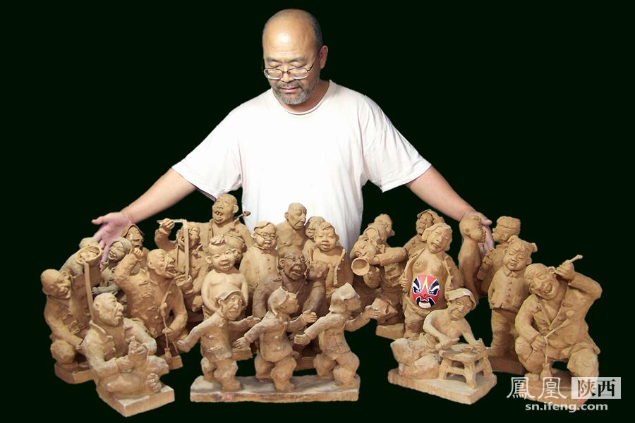 反法西斯电影《第八个是铜像》,影片中的雕塑艺术?-在泥土中永生