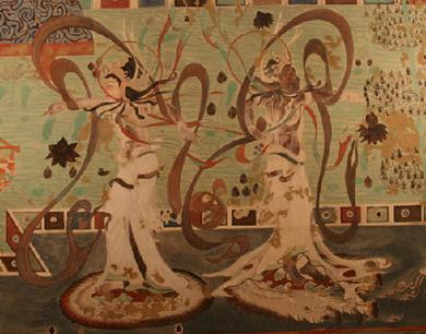 珍贵壁画见证千年前丝路一家亲