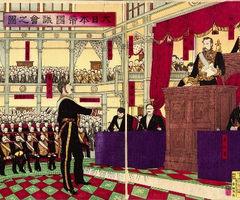 日本开国会订宪法成为近代国家