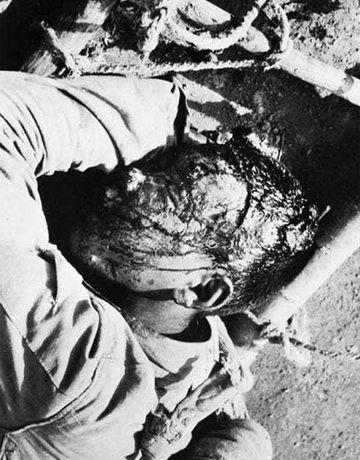 1940年八路军无名小战士壮烈殉国