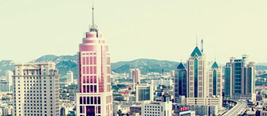 经济高度发达的济南市中区