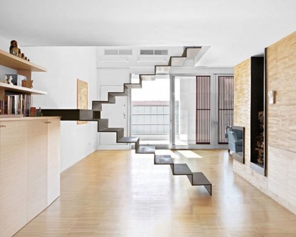 创意楼梯设计 打造亮眼复式好家居