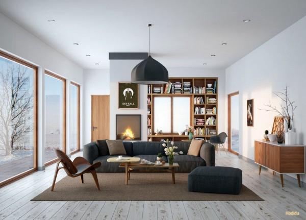 国外26个现代客厅设计案例赏析