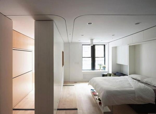 40平米的纽约百万公寓  每一寸空间都极尽其用