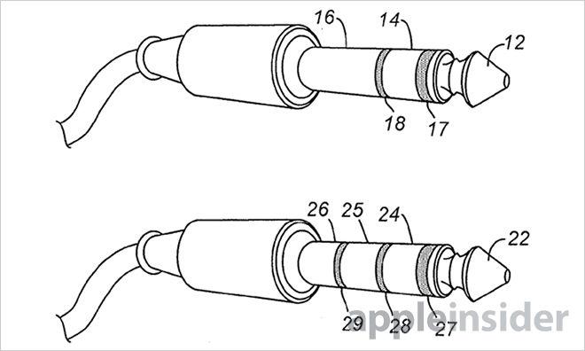 苹果申请柔性耳机接口专利 防止断裂及设备损伤