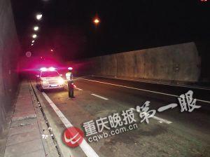 沪渝高速方斗山隧道一司机丢了活猪 寻找40分钟无果
