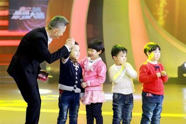 葛韵霖和他的小伙伴在节目中