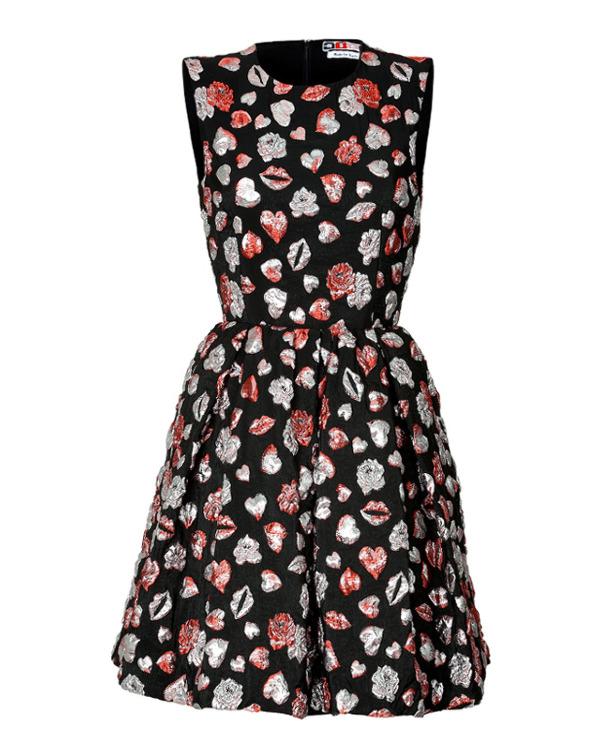 MSGM 刺绣连衣裙约合RMB4200-穿一件刺绣花衣裳 寒冷冬日也要美