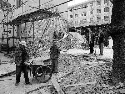 北京昌平城隍庙被拆后重建市民称太折腾(图)