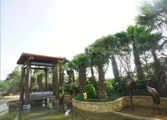 东南亚风情园林别致精美-未来中心 将成型 合景 天汇广场为五象湖居