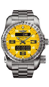 百年灵双频定位信标紧急求救腕表