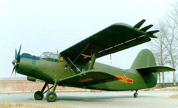 陕西一架运-5型飞机坠毁 致1死2伤(图)