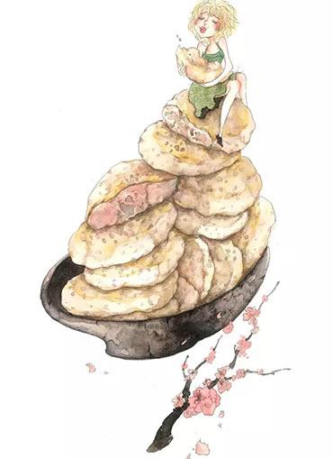 童心若梦——南京女孩手绘南京