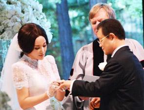 刘晓庆美国大婚现场照
