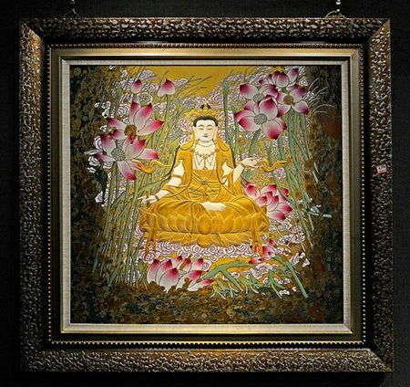 瓷语佛花 佛像艺术展在北京天坛艺术馆开展 图