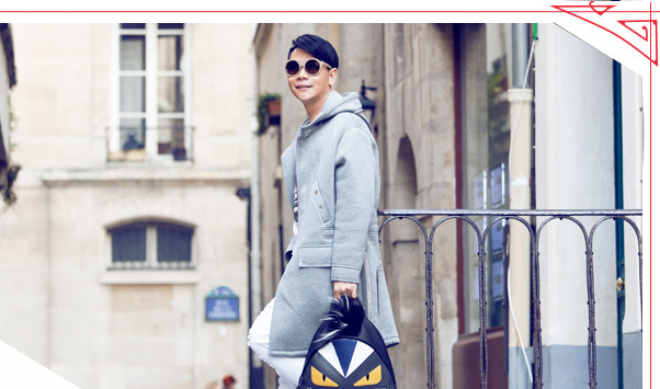 巴黎街拍:男装周新款搭出雅痞风格