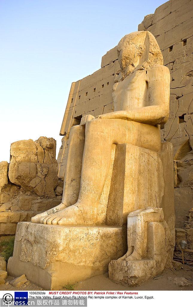 """埃及文明.正像古希腊历史学家希罗多德所说的""""埃及是尼罗河的赠图片"""