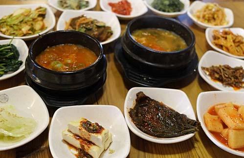 韩国料理吃的就是市井味
