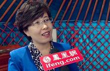 满洲里旅游局副局长郭小芳