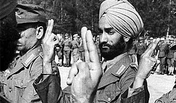 纳粹麾下印度军团兽行:强奸少女全家 致两岁女孩惨死