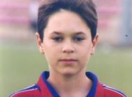12岁的伊涅斯塔