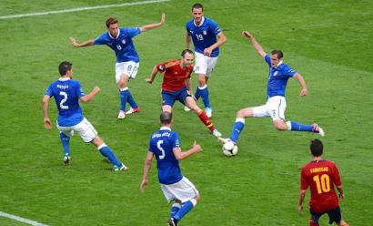 2012欧洲杯最经典的1vs6