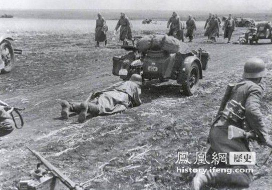二战中主动向德军投降的苏联士兵图片