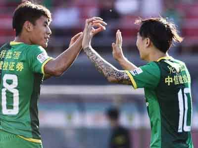 中超-国安6-0完胜富力 乌塔卡双响稀哲带帽