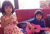 Kimi与钟丽缇女儿合照走红