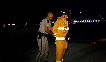 美国:一消防员救人时被捕