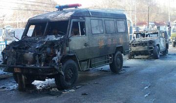 新疆恐怖袭击现场