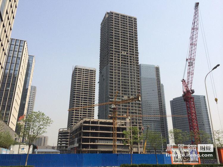 已经有企业正式入驻的楼宇仅有浙商大厦,五矿大厦两处,两者分别在200