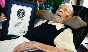 世界最年长男人