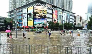 深圳降2008年以来最大暴雨