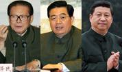 中共领导人戎装照
