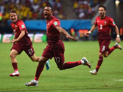 美国后卫送大礼纳尼劲射破网葡萄牙1-0