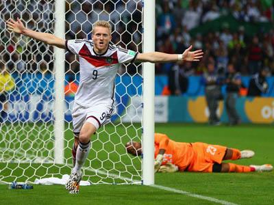 许尔勒门前抢点破僵局 德国加时1-0阿尔及利亚