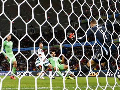 阿尔及利亚最后时刻扳回一球 全场比分定格为1-2