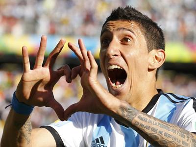 梅西前场助攻 迪马利亚劲射破门 阿根廷1-0瑞士