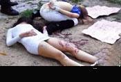 年轻女孩被毒贩残酷折磨后枪决